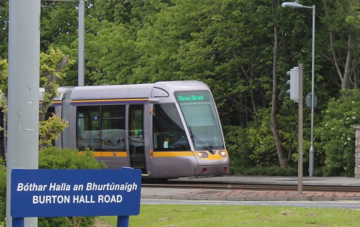 Luas in Buston Hall road, Sandyfords, near Nesta Business Centre