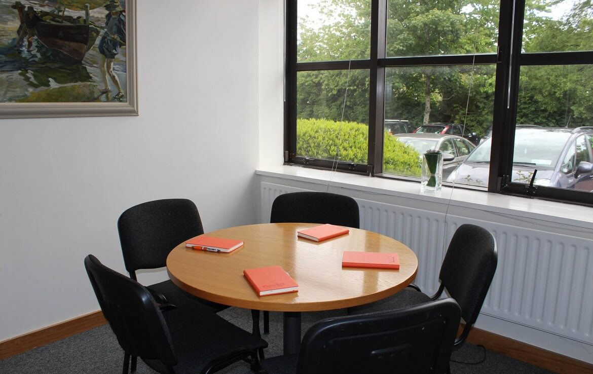 This is one of Nesta meeting rooms in Sandyford