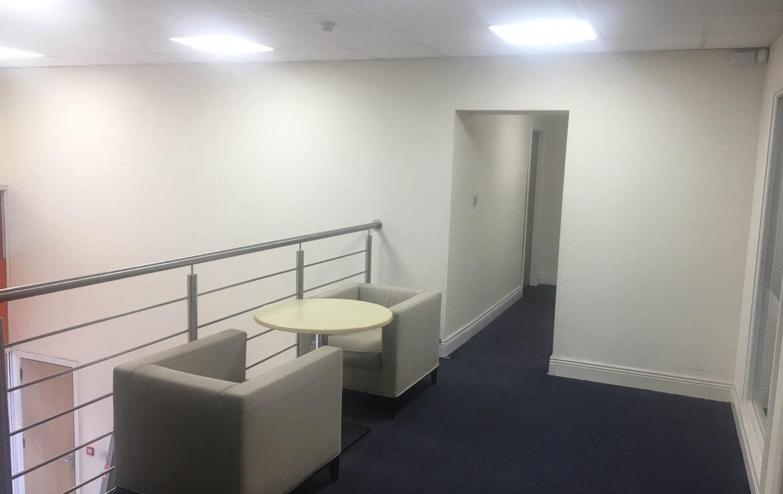 Interior of the Nesta business centre in Deansgrange