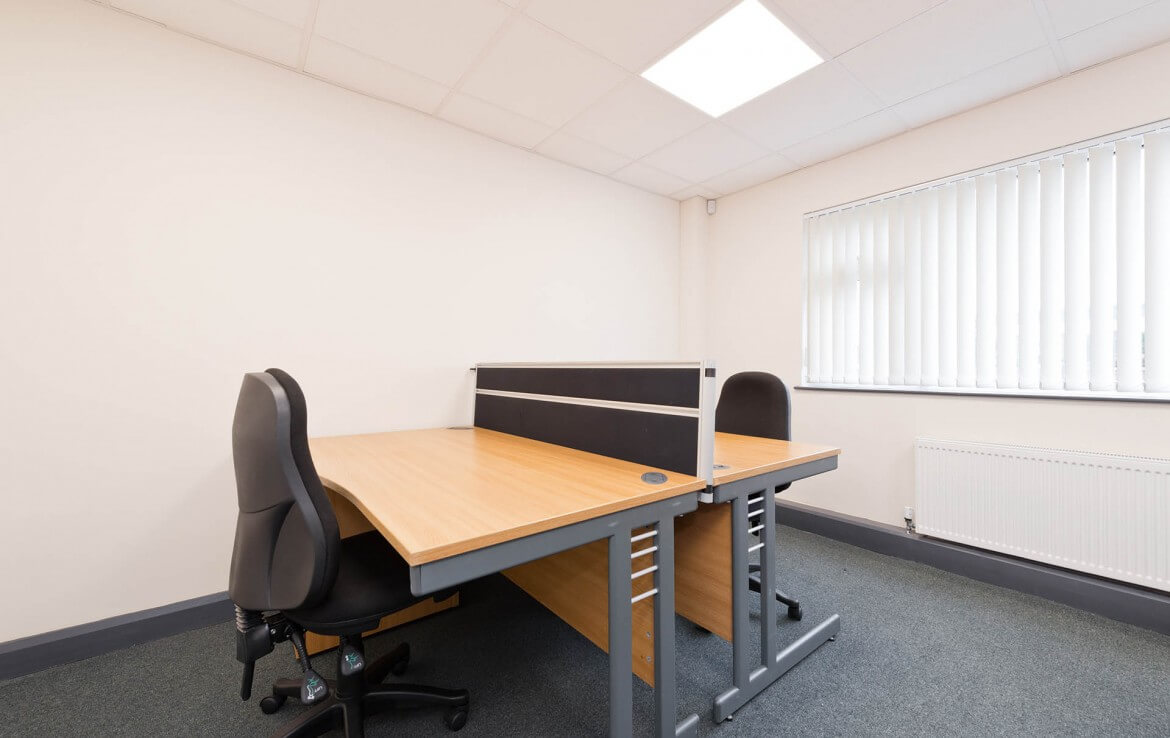 Interior of a Nesta serviced office in Deansgrange, fully furnished office