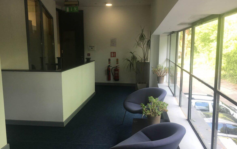 A corridor in the Nesta Deansgrange office building