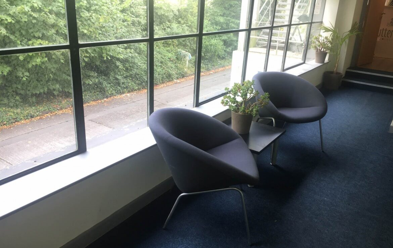 A corridor inside the Nesta Offices in Deansgrange